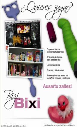 SexShop Tienda Erótica Bizi Bixi Guipúzcoa